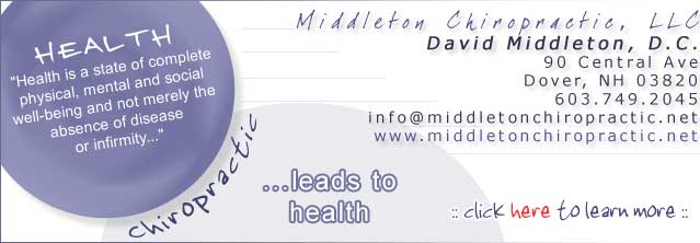 Middleton Chiropractic, LLC - 603-749-2045