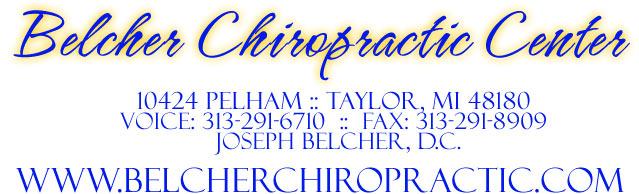 Belcher Chiropractic Center - 313-291-6710