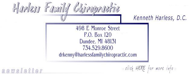 Harless Family Chiropractic - 734.529.8600