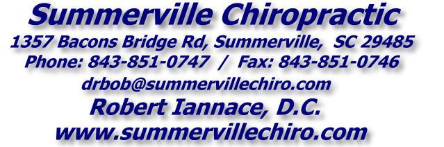 Summerville Chiropractic - 843-851-0747