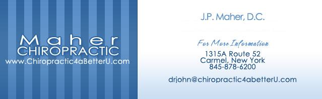 Maher Chiropractic - 845-878-6200