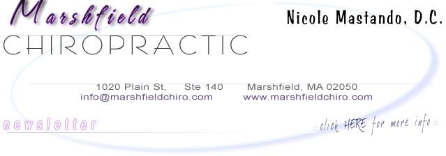 Marshfield Chiropractic - 781-834-7300